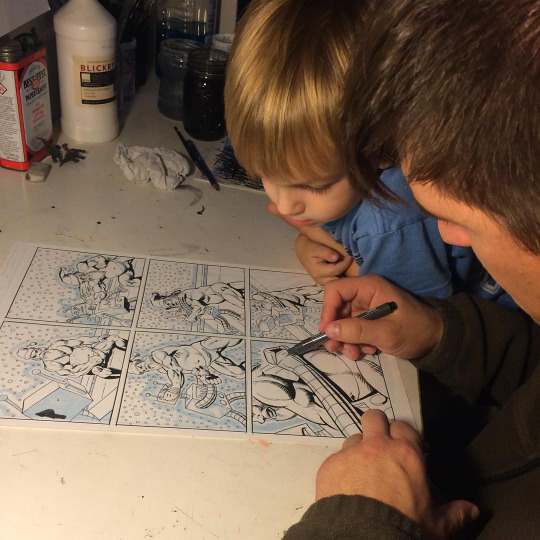 Illustrating_W_My_Son