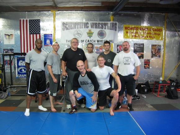 Training With Billy Robinson Circa 2009
